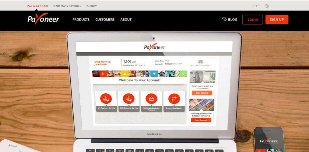 Payoneer es un buen monedero virtual para aquellos que quieran tradear