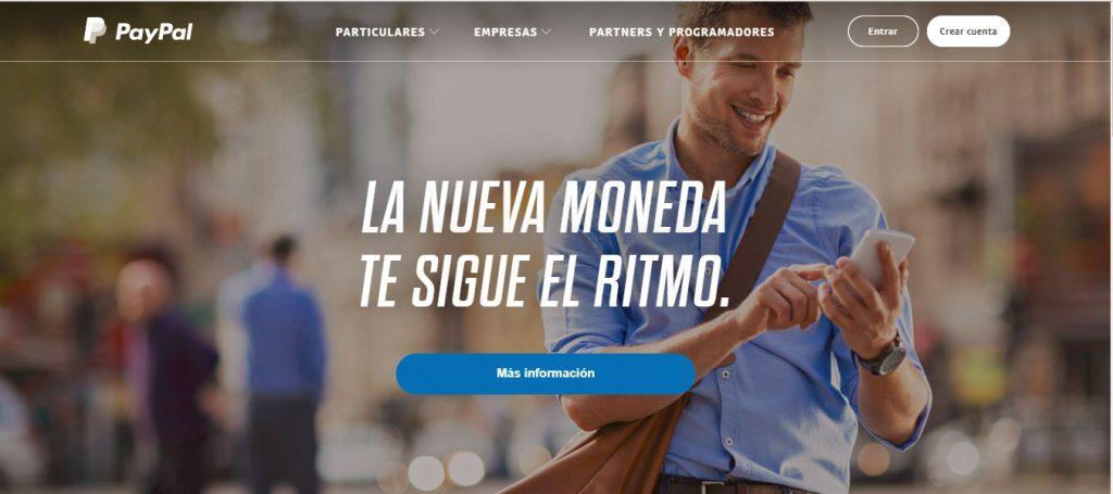 Paypal es una herramienta muy util como monedero virtual