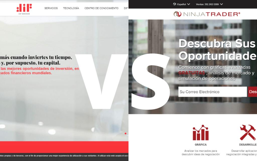 difbroker vs ninjatrader cual es el mejor broker