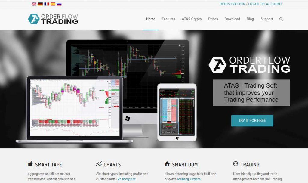 Atas es una potente herramienta que facilita tus análisis del flujo de órdenes.