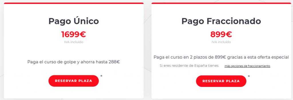 Los precios de ArmagaFX
